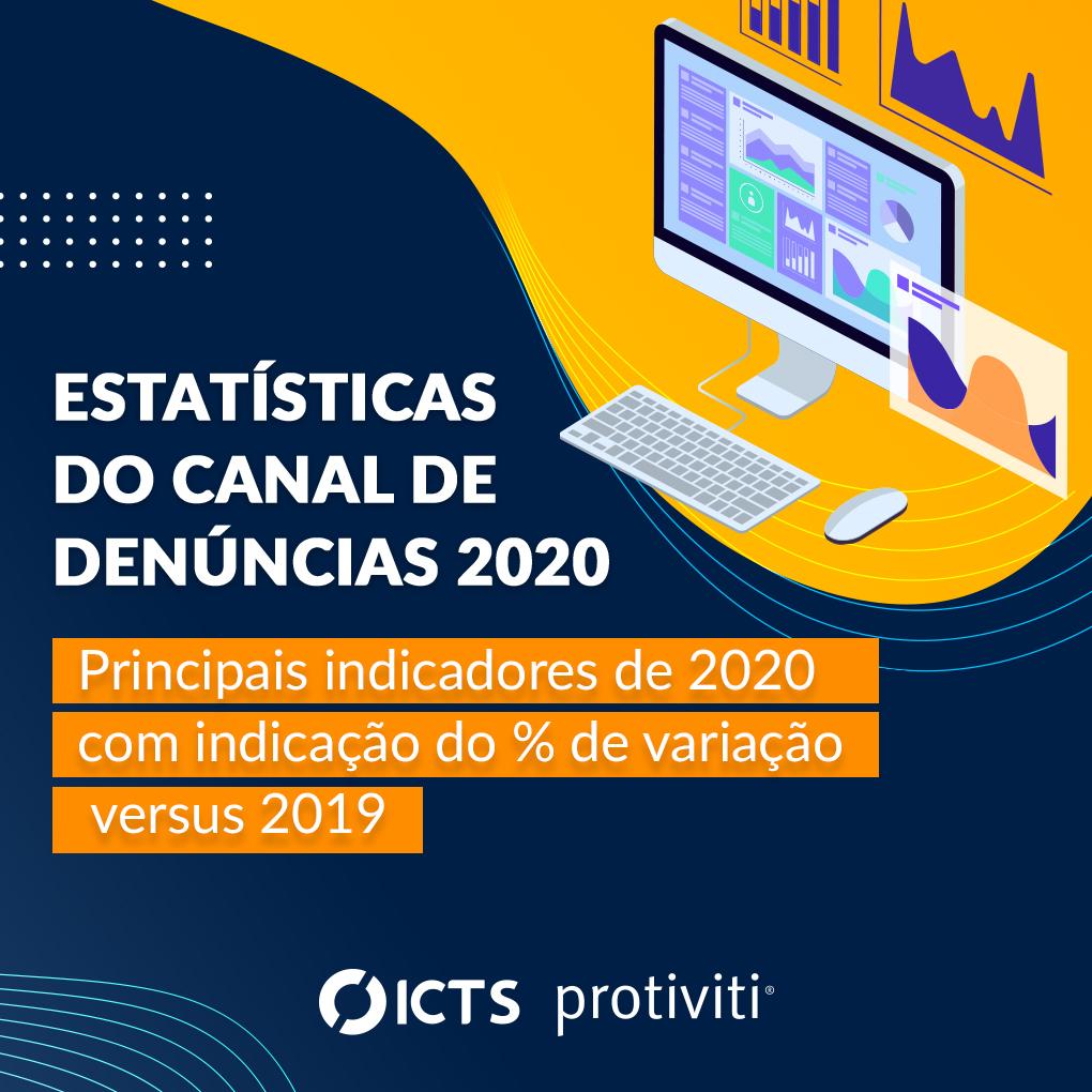 Estatísticas do Canal de Denúncias 2020
